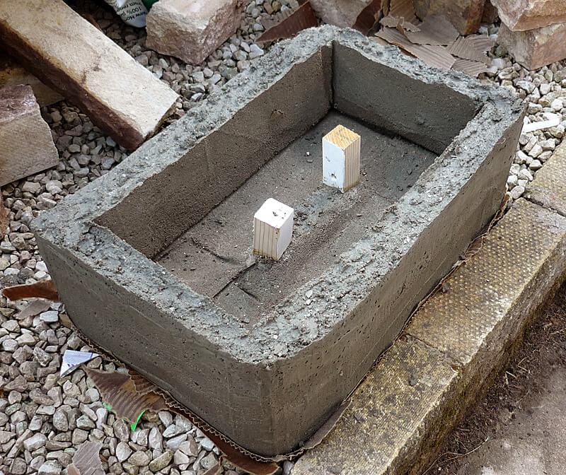 Cement Peat Moss : Hypertufa planters how to make ultimate guide