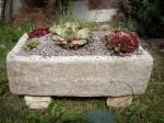 Hypertufa Stone Trough